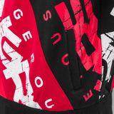 DNGRS Mikina Logo Červená