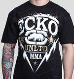 Ecko MMA Tričko Free Čierne