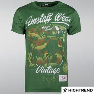 Amstaff Tričko Perro Zelené