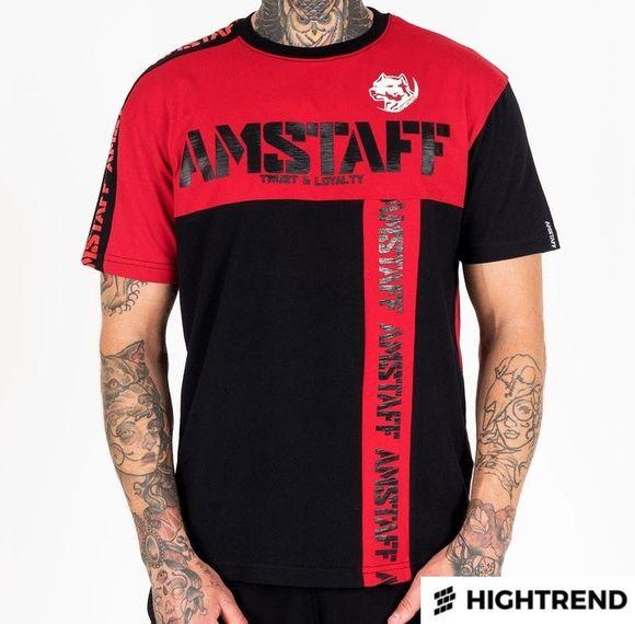 Amstaff Tričko Batra Čierne