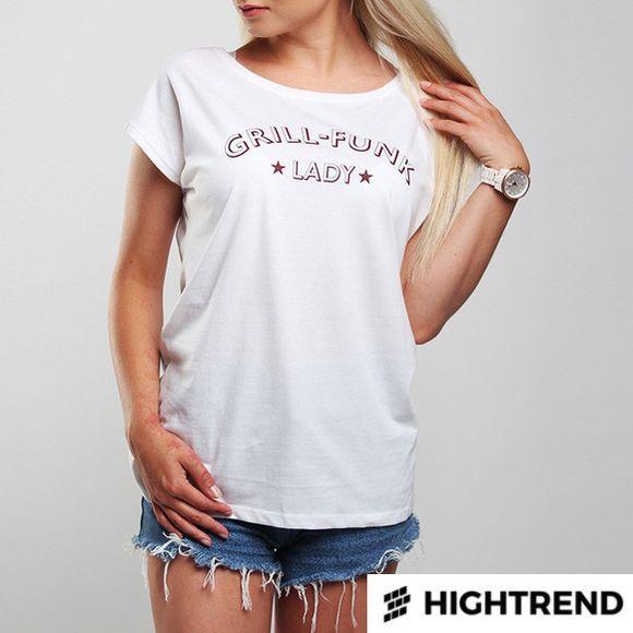 Grill Funk Tričko Lady Biele